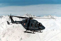 An ALH (Z3268) undergoing high altitude tests over Siachen.